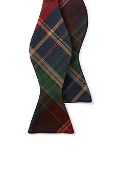 Lauren Ralph Lauren Shirting Plaid Bow-Tie