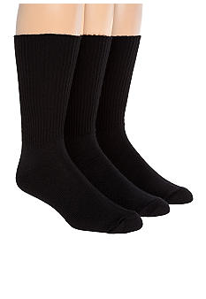 Saddlebred 3-Pack Crew Socks