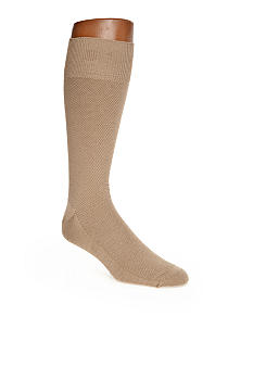 Saddlebred Textured Dobby Bamboo Dress Socks