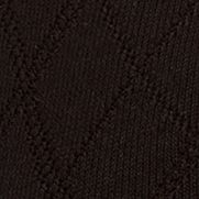 Men: Casual Sale: Black Saddlebred Diamond Textured Dress Socks - Single Pair
