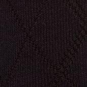 Mens Casual Socks: Navy Saddlebred Diamond Textured Dress Socks - Single Pair