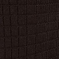 Men: Casual Sale: Black Saddlebred Textured Grid Dress Socks - Single Pair
