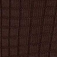Men: Casual Sale: Brown Saddlebred Textured Grid Dress Socks - Single Pair