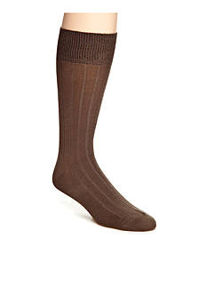 Saddlebred Ribbed Modal Dress Socks - Single Pair