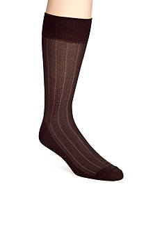 Saddlebred Birds Eye Pattern Dress Socks - Single Pair