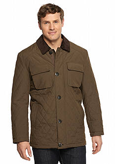 London Fog Casual Quilted Coat