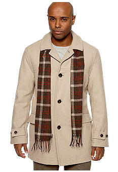 Wool Scarf Coat