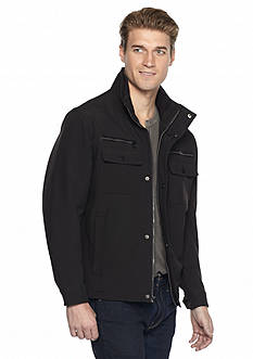 MICHAEL Michael Kors Multi-Pocketed Softshell Jacket