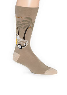 Tommy Bahama Woody Wagon Crew Socks - Single Pair