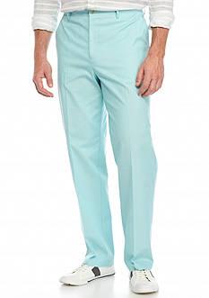 Saddlebred Flat Front Chambray Pants