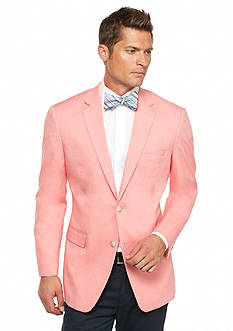 Saddlebred Classic-Fit Coral Chambray Sport Coat