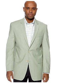 Saddlebred Green Chambray Sportcoat