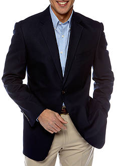 Saddlebred Classic Fit Navy Cotton Oxford Sportcoat