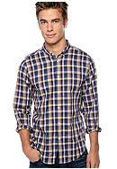 Ben Sherman® Fancy Gingham Shirt