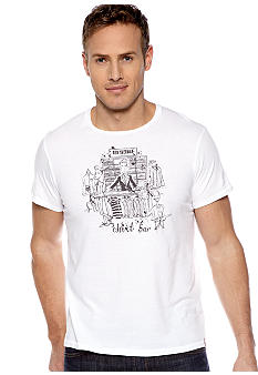Ben Sherman Shirt Bar Graphic Tee