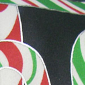 Hallmark Holiday Traditions: Black Hallmark Holiday Traditions Holidazzle Candy Canes Formal Tie
