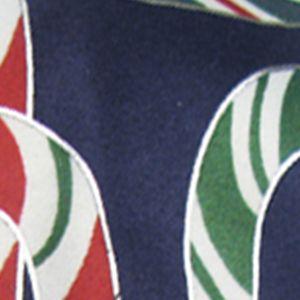 Hallmark Holiday Traditions: Navy Hallmark Holiday Traditions Holidazzle Candy Canes Formal Tie