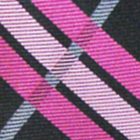 Mens Neckties: Black 'Knots For Hope' Necktie Benefiting Susan G. Komen For The Cure