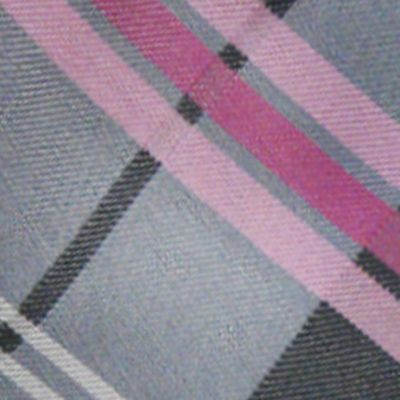 Men: Neckties Sale: Charcoal 'Knots For Hope' Necktie Benefiting Susan G. Komen For The Cure