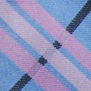 Mens Neckties: Blue 'Knots For Hope' Necktie Benefiting Susan G. Komen For The Cure