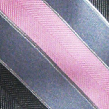 Susan G. Komen Men Sale: Charcoal 'Knots For Hope' Necktie Benefiting Susan G. Komen For The Cure