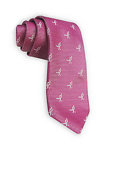 Susan G. Koman Knots for Hope All Over Ribbon Tie