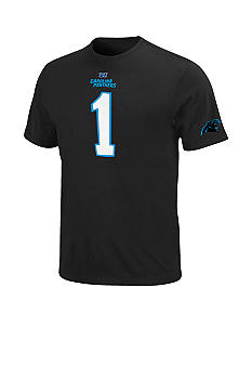 NFL Official Licensed Big & Tall Carolina Panthers Player Tee