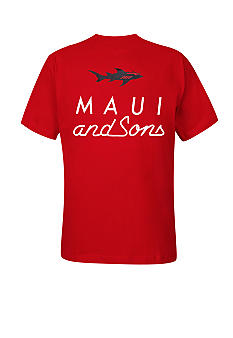 Maui and Sons Big & Tall Maui Graphic Tee