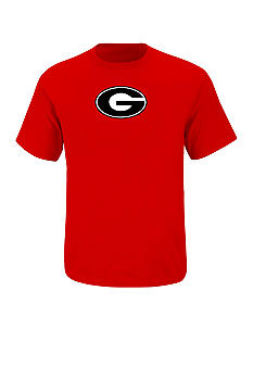 Section 101 by Majestic Big & Tall Georgia Bulldogs Logo Tee