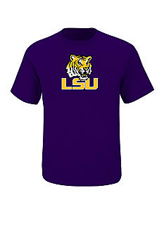 Section 101 by Majestic Big & Tall LSU Tigers Logo Tee