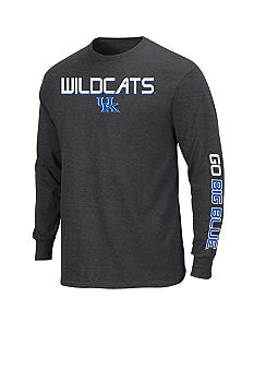 Section 101 by Majestic Big & Tall Kentucky Wildcats Long Sleeve Tee