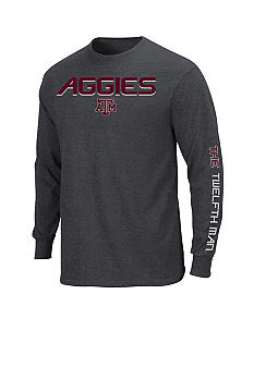 Section 101 by Majestic Big & Tall Texas A & M Aggies Long Sleeve Tee