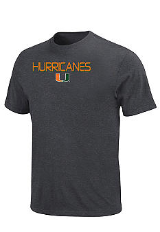 Section 101 by Majestic Big & Tall University of Miami Hurricanes NCAA Dream Tee