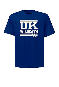 Section 101 by Majestic Big & Tall Kentucky Wildcats Screen Tee