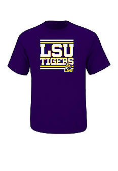 Section 101 by Majestic Big & Tall LSU Tigers Screen Tee