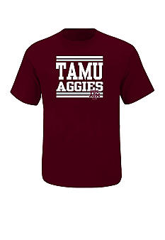 Section 101 by Majestic Big & Tall Texas A& M Aggies Screen Tee