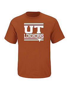 Section 101 by Majestic Big & Tall Texas Longhorns Screen Tee