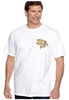Saddlebred Big & Tall N. American Trout Screen Tee