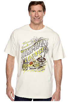 Saddlebred Big & Tall Tiki Hut Screen Tee