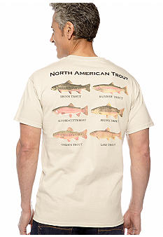 Saddlebred N. American Trout Screen Tee