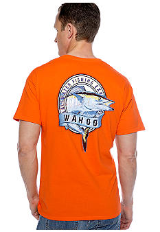 Saddlebred Wahoo Fish Screen Tee
