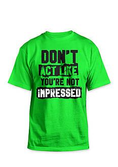 Hybrid™ Not Impressed Tee Shirt