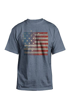 Hybrid Stripes Star Americana Graphic Tee