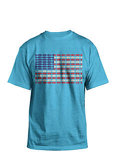 Hybrid™ Bowtie Flag Graphic Tee