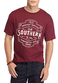 Hybrid™ Talk Southern Graphic Tee
