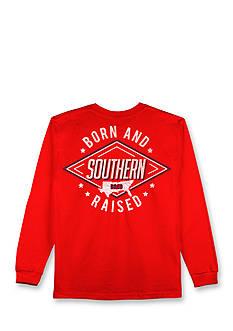 Hybrid™ Southern Born & Raised Long Sleeve Graphic Tee