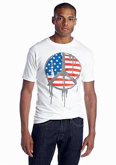 Hybrid™ American Peace Sign Tee