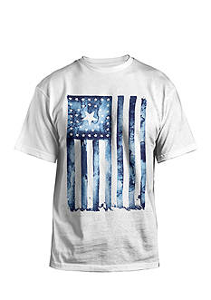 Hybrid™ Liquid Patriot Graphic Tee