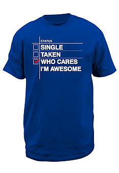 Hybrid Awesome Status Graphic Tee