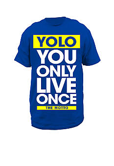Hybrid YOLO The Motto Tee